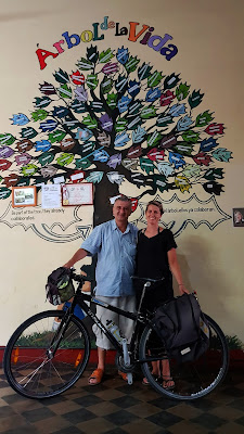 Charity Smiles Cafe in Granada, Nicaragua & Cycling Country Bike