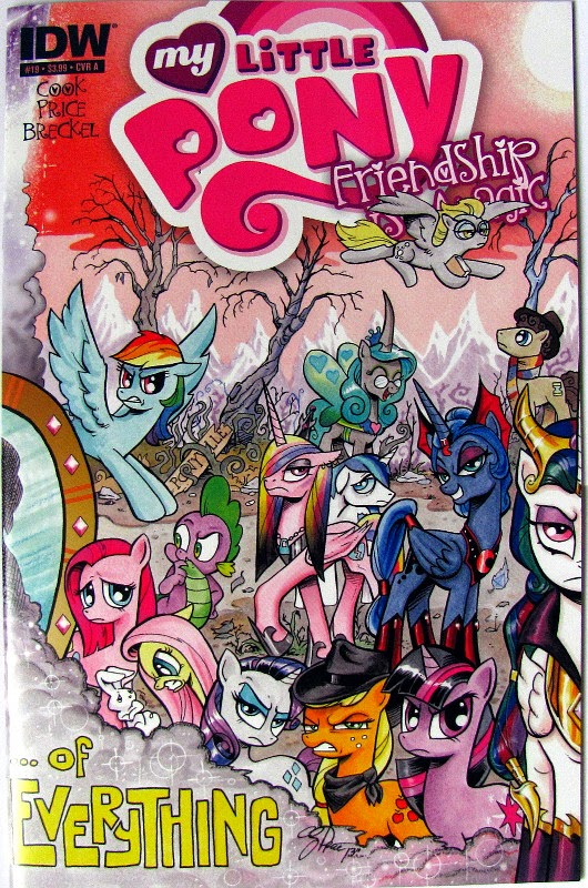 IDW MLP comic issue 19, cover A