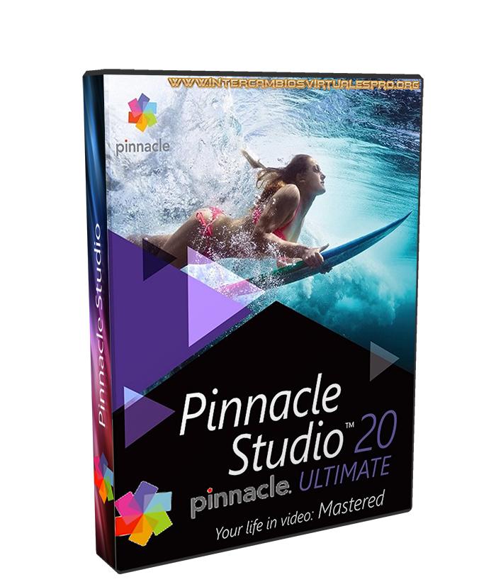Pinnacle Studio Ultimate 20.0.1.109 poster box cover