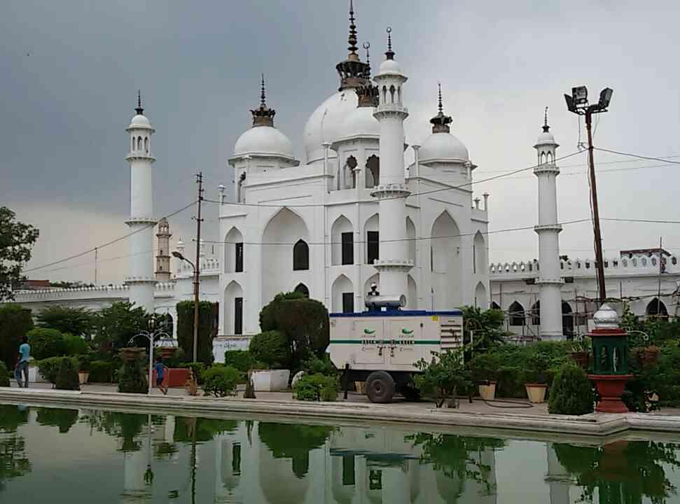 Chota imambara | Hussainabad imambara lucknow