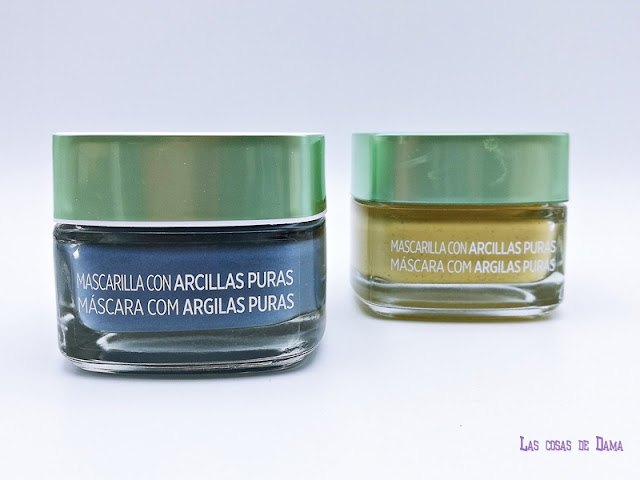 Mascarillas Detox Arcillas Puras  L'Oréarl Paris beauty belleza emoticonodetox facial