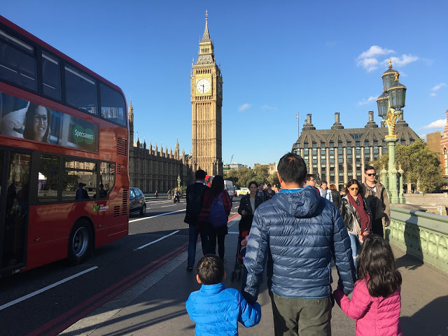westminster bridge london england big ben double decker bus