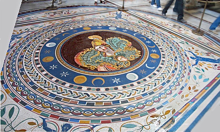 Stock Pictures Sistine Chapel Floor Designs