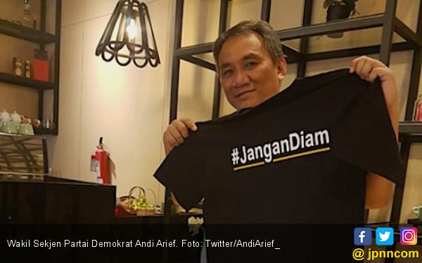 Andi Arief Dukung Jokowi-Ma'ruf Amin, Semoga Demokrat Ikut