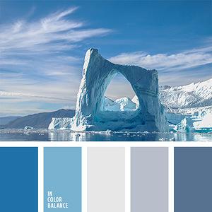 Морские и водные пейзажи - гармоничные палитры в 5 цветов