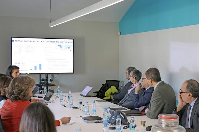 Diretor Geral da Comissão Europeia e Ministro da Ciência, Tecnologia e Ensino Superior visitam Altran