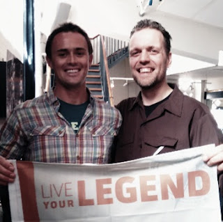 Scott Dinsmore met Johnny 13. Live your legend