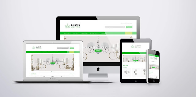 The Cusack Lighting Website