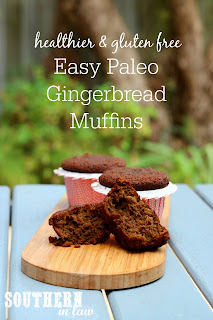 One Bowl Paleo Gingerbread Muffins Recipe
