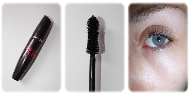 Swatch Mascara Sexy Pulp Teinte Noir - Yves Rocher