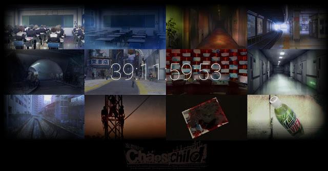 ChaoS;Child - odliczanie na stronie internetowej anime