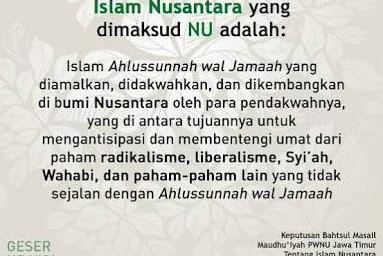 Argumentasi Islam Nusantara Dari Berbagai Aspek (5-Habis)