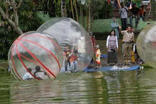 Taman rekreasi Alam Mayang - tempat wisata di pekanbaru