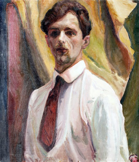 Kasper Pochwalski, Self Portrait, Portraits of Painters