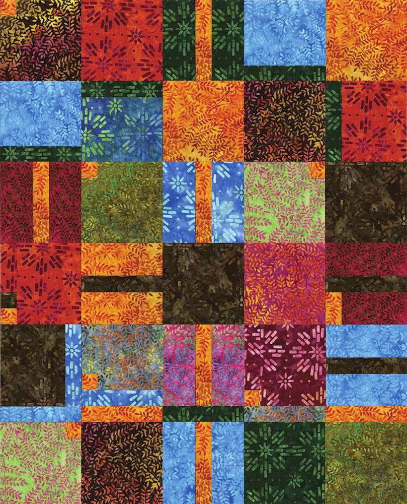 Sew In Love With Fabric 11 Batik Quilts You Ll Love