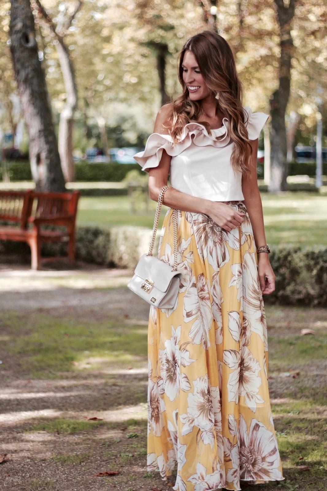 falda larga verano 2017