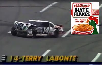 Terry Labonte #14 Kellogg's Corn Flakes Racing Champions 1/64 NASCAR diecast blog Hagan 1993