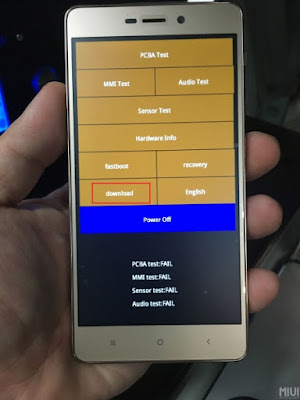 Cara Flash Xiaomi Redmi 4 / 4A / 4 Prime Via Mi Flash