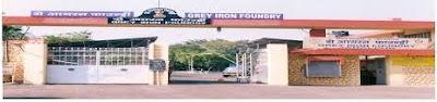Grey Iron Foundry Jabalpur Recruitment