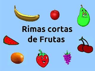 rimas de frutas