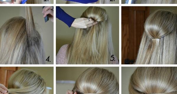 Elegant Half Up Hairstyle Tutorial Style Hunt World