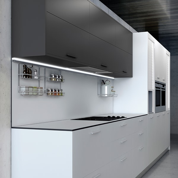 Acabados super mate una alternativa en laminados para for Muebles de cocina blanco mate