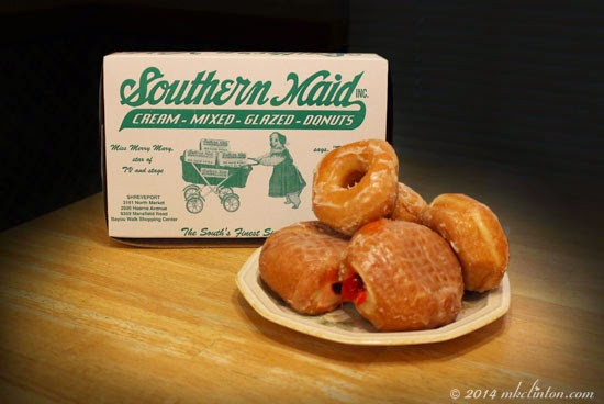 Elvis made his only commercial for Southern Maid Donuts