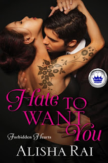 contemporary romance, Royal Pick, romance novel covers, Hate to Want You by Alisha Rai
