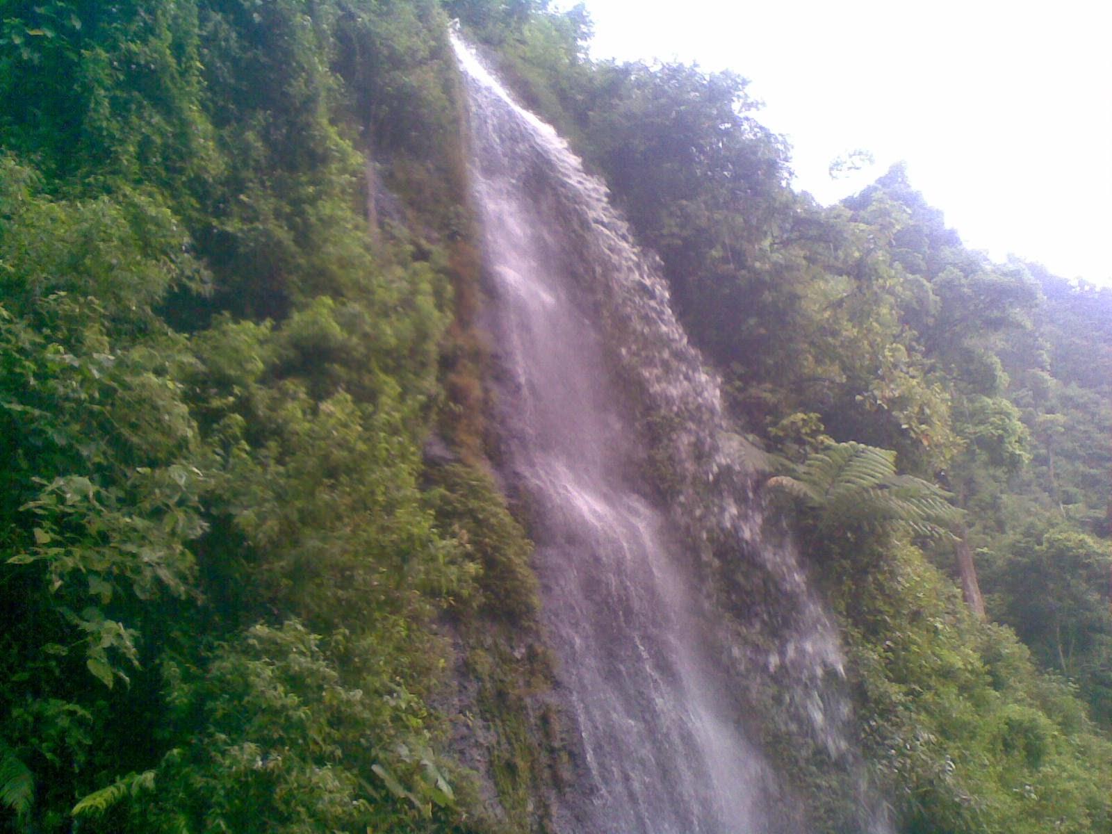 air terjun santi pangonan gunungsari