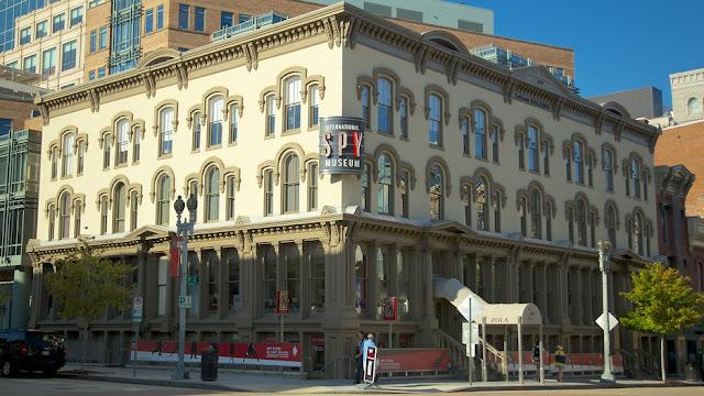 Museo del espionaje en Washington, Estados Unidos. Los museos más raros y extraños del mundo
