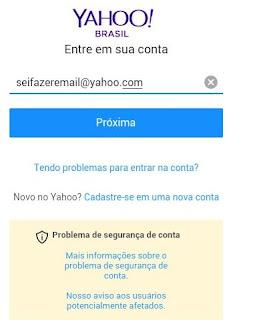 Como entrar no Yahoo mail pelo celular