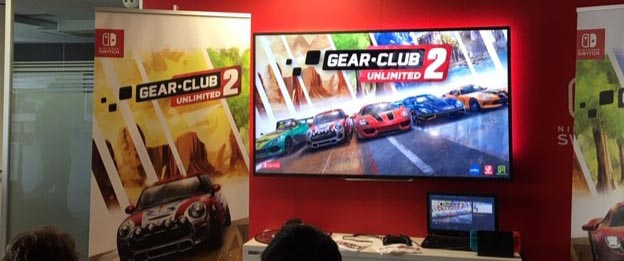 presentación gear club unlimited 2 nintendo switch