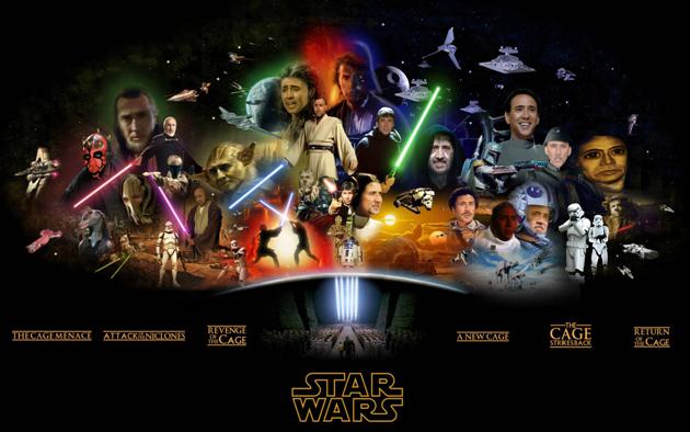 Nicolas Cage em Star Wars