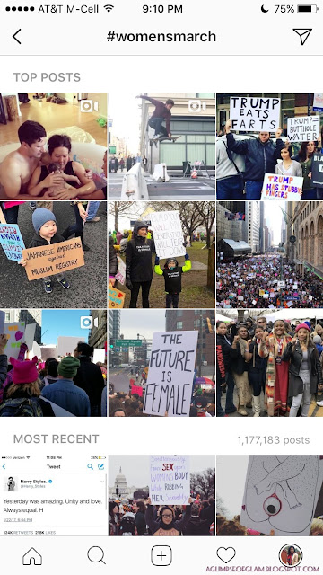 Speak Up Now: Thoughts on the Women's March - A Glimpse of Glam