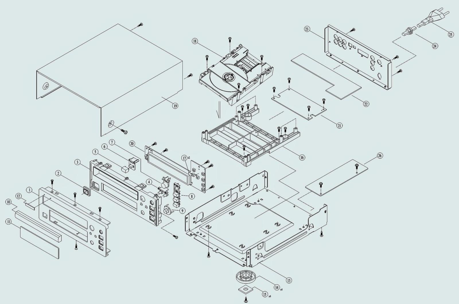dvd player circuits electronic circuit