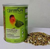 Pakan Burung Lovebird Benelux Primus