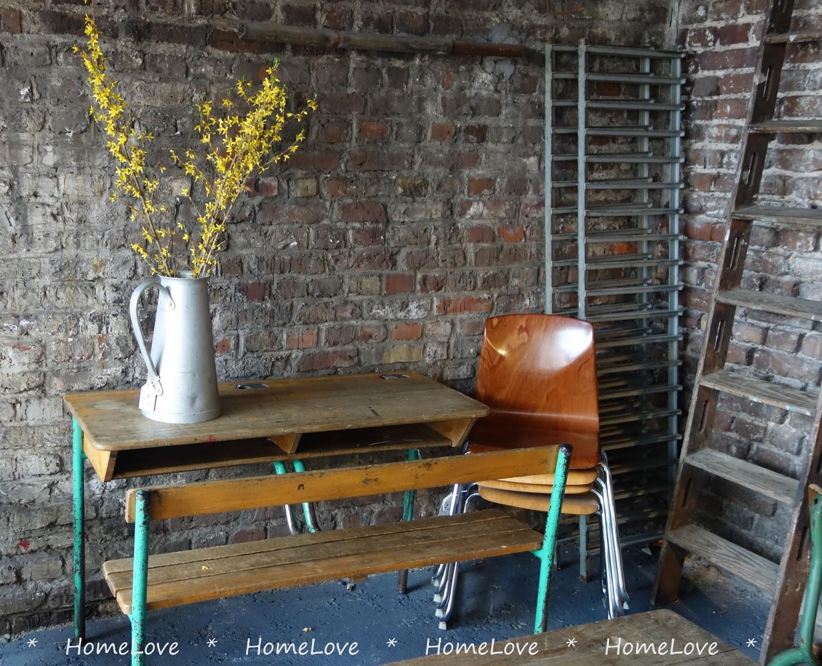 HomeLove: Waage Vier Intérieur - Vintage Möbel