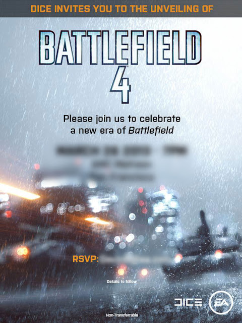 image de l'Invitation de Battlefield 4