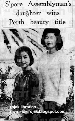 Koh Siok Puay and Koh Siok Tian, daughters of Koh Choon Hong