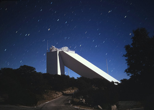 The McMath Solar Telescope on Kitt Peak imaged at the  Advanced Observing Program - November 2004