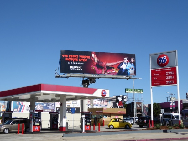 Rocky Horror Picture Show Fox billboard