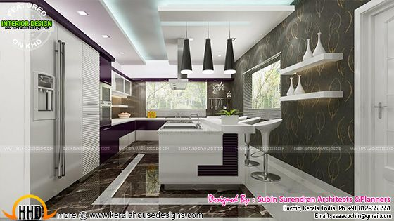 Latest modern kitchen interior