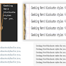 Customize Blockquote in Blogger | 6 Blockquote Style Codes