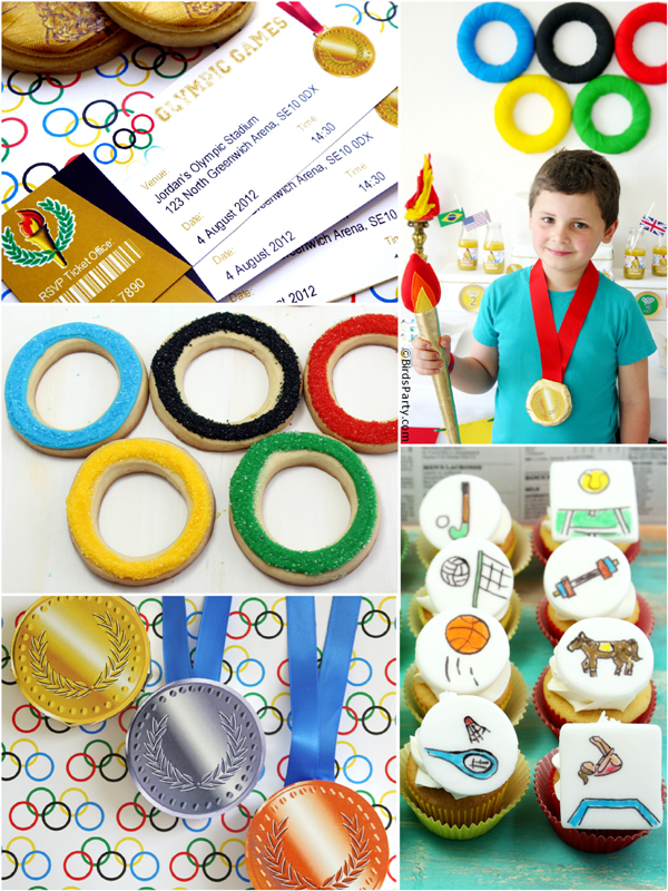 Best Olympics Inspired Party Ideas, Recipes & Crafts - BirdsParty.com