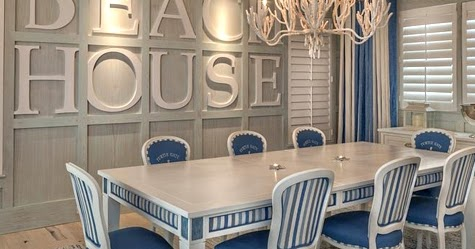 Bold Wall Designs In A Florida Beach House Completely