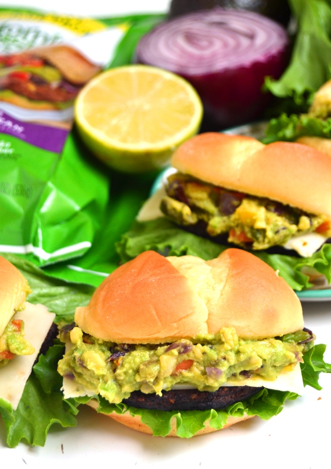 Mini Loaded Black Bean Burgers - The Nutritionist Reviews
