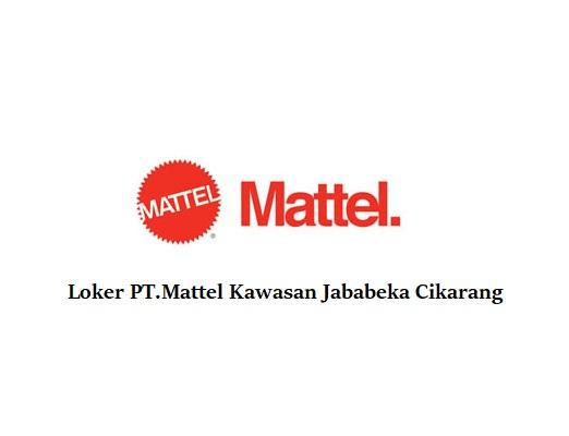 Loker Kawasan Pabrik Jababeka PT Mattel Indonesia melalui Via Email