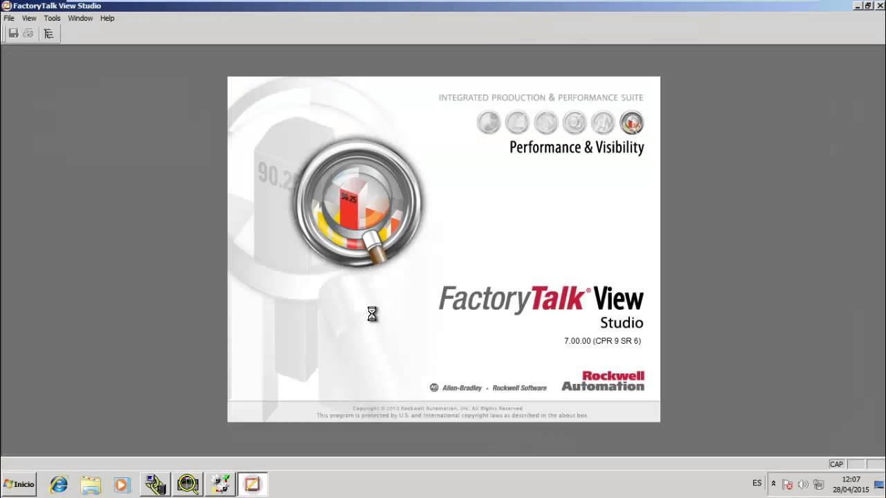 Factory talk view me Manual