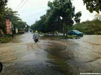 Banjir Undip LPPU Kampusundipcom