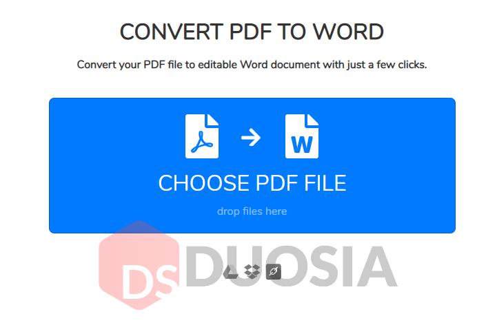 from pdf ke word